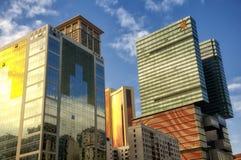 Hoteles y casinos en Macao foto de archivo