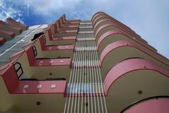 Hotelfassade Stockbilder