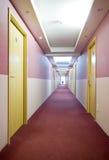 Hotelflur Lizenzfreies Stockfoto