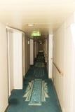 Hotelgang Royalty-vrije Stock Afbeelding