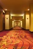 Hotelgang Royalty-vrije Stock Fotografie