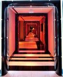 Hotelgangen Royalty-vrije Stock Afbeelding