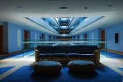 Hotelhalle Stockfoto