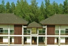 Hotelhaus Stockfotos