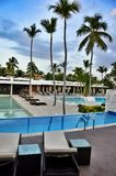 Hotelhotel Catalonië Koninklijke Bavaro Dominicaanse Republiek Royalty-vrije Stock Fotografie