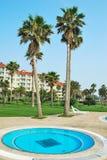 hoteli/lów mini basenu kurort tropikalny zdjęcia stock