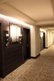 Hotelinnenraumhalle Lizenzfreies Stockfoto