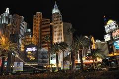 Hotelkasino New York New York in Las Vegas Stockbilder