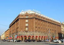 Hotell Astoria. St Petersburg Ryssland. Royaltyfria Bilder