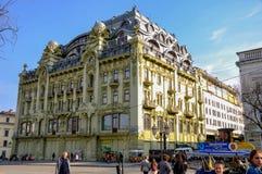 Hotell Bolshaya Moskovskaya Historisk del av staden Royaltyfri Foto