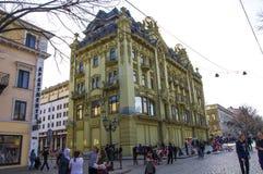 Hotell Bolshaya Moskovskaya Odessa ukraine Arkivbild