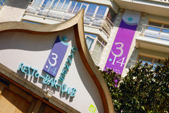3 14 hotell - CANNES Royaltyfri Bild