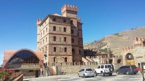 Hotell Castillo de San Ignacio, Merida Venezuela Royaltyfri Fotografi