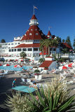 Hotell Coronado, San Diego, CA Royaltyfri Bild
