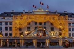 Hotell D'Angleterre i Köpenhamn Royaltyfri Foto