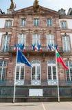 Hotell de Ville du Strasbourg eller stadshus av Strasbour Royaltyfri Bild