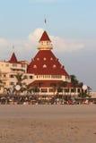 Hotell Del Coronado, Kalifornien Royaltyfria Foton