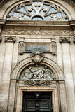 Hotell-Dieu de Lyon Arkivbilder
