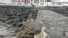 Hotell El Mirador, Playa Blanca i Fuerteventura, Canarias 2 arkivbild