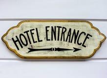 Hotell Enterance Royaltyfri Foto