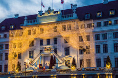 hotell för angleterre D Royaltyfria Bilder