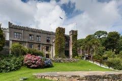 Hotell för Clifden slott nu, Connemara Irland Royaltyfri Fotografi