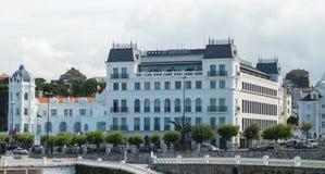 Hotell för El Sardinero Fotografering för Bildbyråer