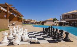 Hotell för LaMarquise Luxurious brunnsort i Grekland Royaltyfri Bild