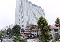hotell för Mång--våning modernt byggande Shinagawa smet Royaltyfri Fotografi