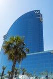 Hotell för W Barcelona Fotografering för Bildbyråer