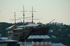 Hotell-fartyg Fotografering för Bildbyråer