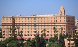 Hotell för konung David i Jerusalem, Israel Royaltyfria Foton