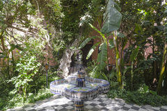 Hotell i Marocko Arkivbilder