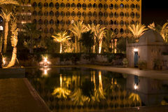 Hotell i Marrakesh Royaltyfri Bild