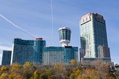 Hotell i Niagara Falls Fotografering för Bildbyråer