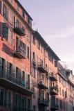 Hotell i Nice, Frankrike Arkivbilder