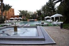 Hotell i Ouarzazate Arkivbild