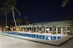 Hotell i Santa Maria - Kap Verde - Afrika royaltyfri foto
