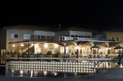 Hotell i Santa Maria - Kap Verde - Afrika royaltyfri bild
