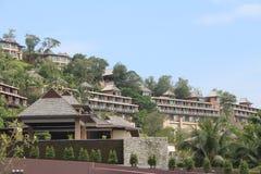 Hotell i Thailand Fotografering för Bildbyråer