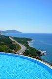 Hotell i Turkiet Royaltyfria Bilder