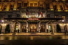 Hotell imperialistiska Wien Arkivfoto