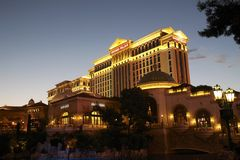 hotell Las Vegas Royaltyfri Foto