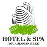 Hotell Logo Template Arkivfoton