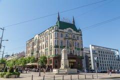 Hotell Moskva, Belgrade arkivbild
