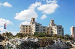 Hotell Nacional de Kuba Royaltyfria Bilder