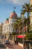 Hotell Negresco i Nice, Frankrike Arkivfoton