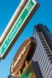Hotell och kasino för extranummer lyxigt Arkivbilder