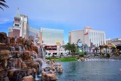 Hotell och kasino för Harrah ` s i Las Vegas Royaltyfri Foto