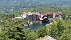 Hotell och semesterort för Catskill berg royaltyfria bilder